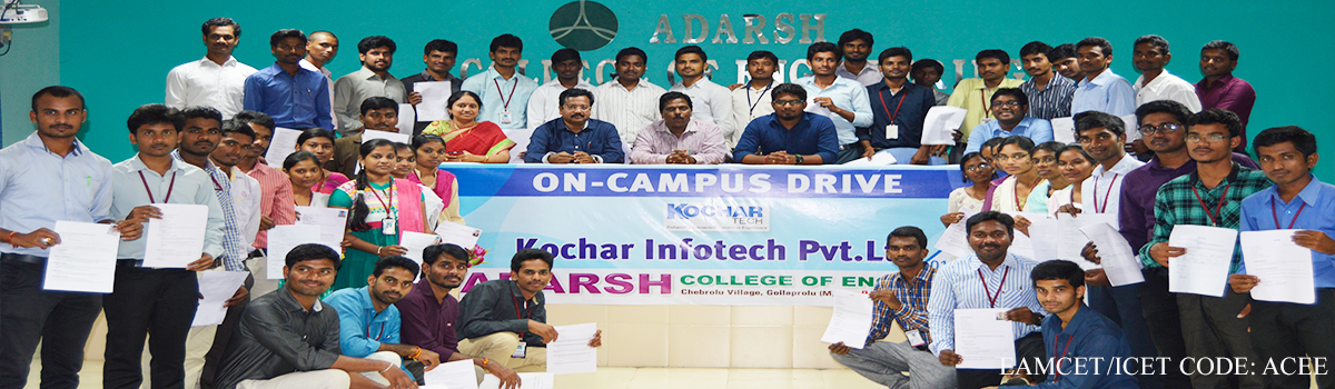 ADARSH COLLEGE OF ENGINEERING
